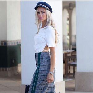 StyleNanda Plaid Pencil Skirt from ASOS
